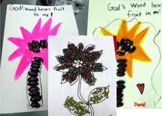 parable of the sower crafts for kids | Growing Kids in Grace: The Parable of The Sower