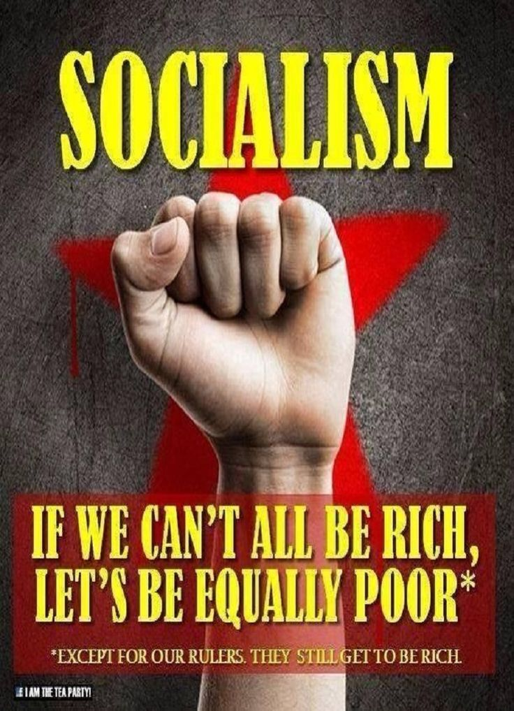 Make no mistake, in socialism All people are slaves to the government.  Just ask anyone from a socialist country.  But didn't you learn this in school? Oh, wait, they don't teach that anymore do they...