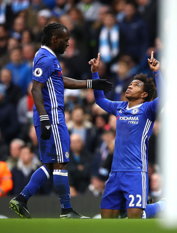 @Chelsea Victor #Moses and #Willian Borges #9ine