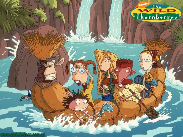 The Wild Thornberries(1998)_ Focussed on a nomadic family of documentary filmmakers known as the Thornberrys, It primarily centers on the family's younger daughter Eliza & her secret gift to communicate with animals, bestowed upon her after having rescued a shaman masquerading as a trapped wild animal and thus enabling her to talk to the Thornberrys' adopted pet chimpanzee Darwin & all the other animals.
