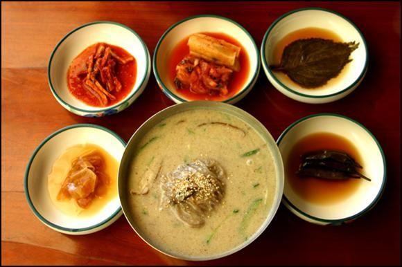 단야식당, 산채정식, 사찰국수, 하동 쌍계사