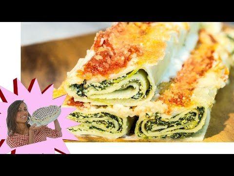 Cannelloni Vegani con Tofu e Spinaci