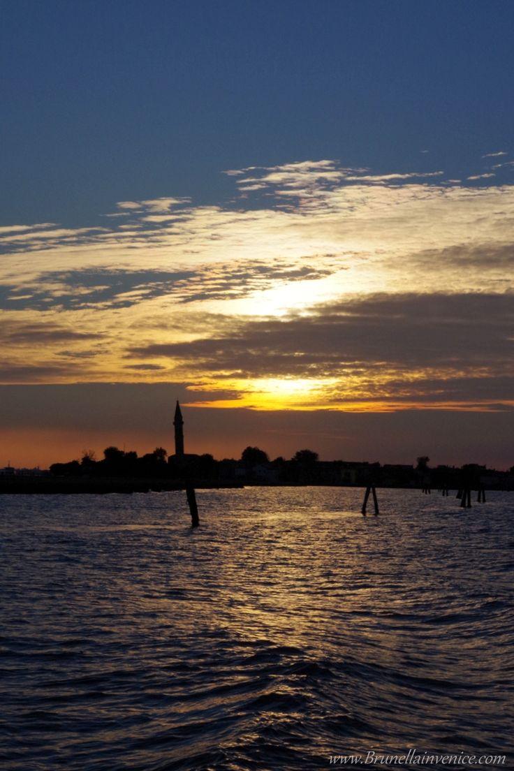 Tramonto su Burano - Venezia
