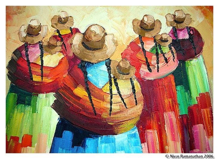 Peruvian painting