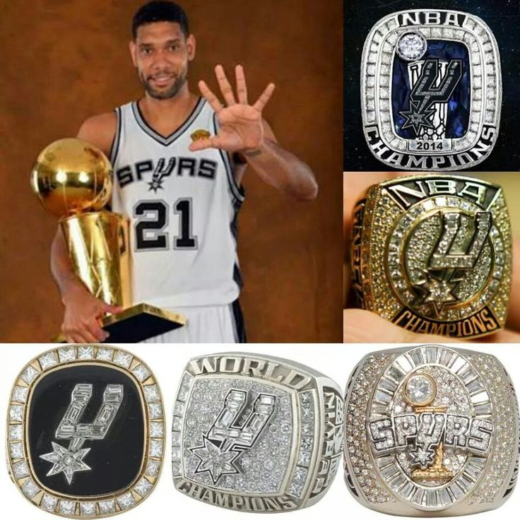 Spurs Rings How Many