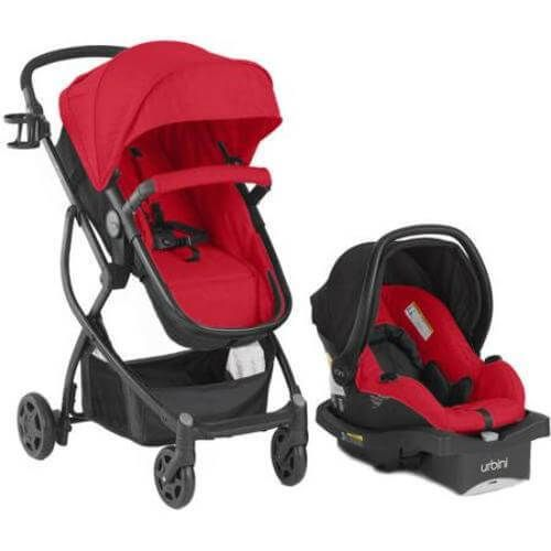 Baby Travel System Car Seat Infant Stroller Safety Carriage Toddler Safe NEW Red #1
