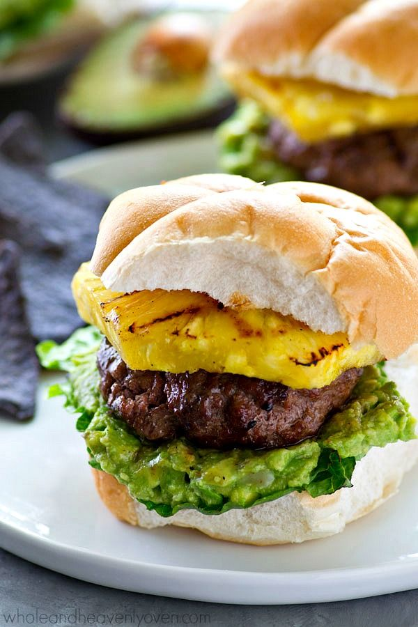 Sweet 'n' spicy jerk-flavored hamburgers are a match made ...