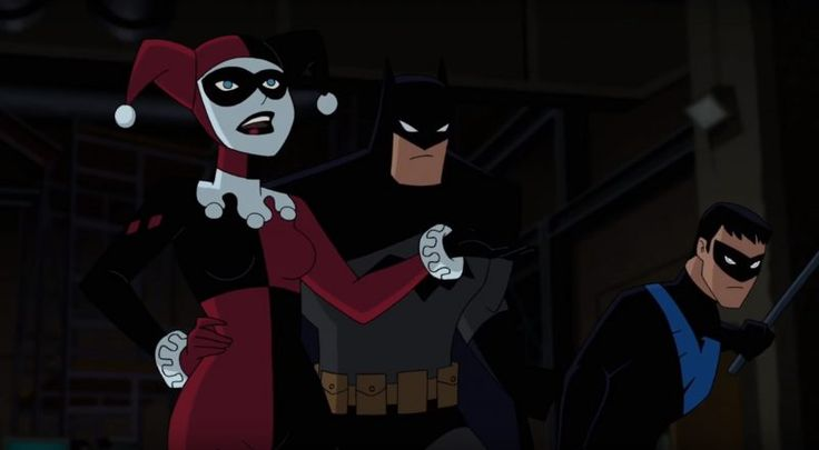 Batman and Harley Quinn is like a continuation of the Batman animated series