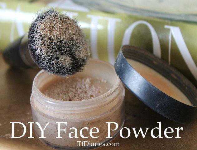 DIY Natural Face Powder