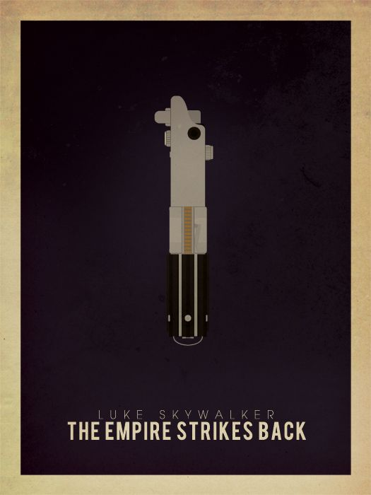 Luke's lightsabers - Empire Strikes Back
