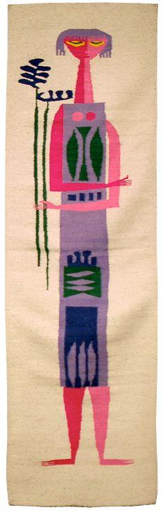Evelyn Ackerman tapestry.Wall Art, Tapestries Weaving, Midcenturia Art, Art Schools, Handwoven Wool, Wool Tapestries, Textiles Art, Ackerman Tapestries, Evelyn Ackerman
