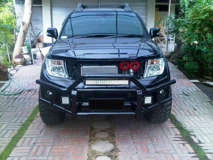 Custom Front Bullbar Nissan Frontier Mods Pinterest