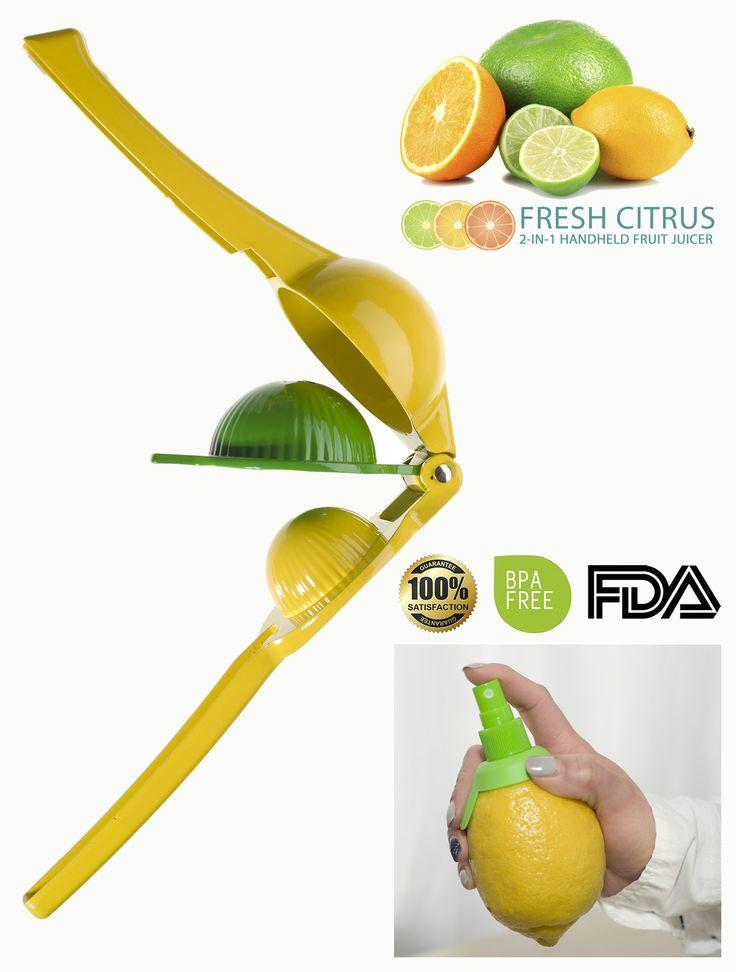 Juicing Just got FUN. Fresh Citrus Juice Press Manual Juicer