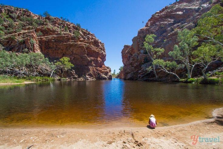 Ellery Creek Big Hole - West MacDonnel Ranges, Northern Territory, Australia