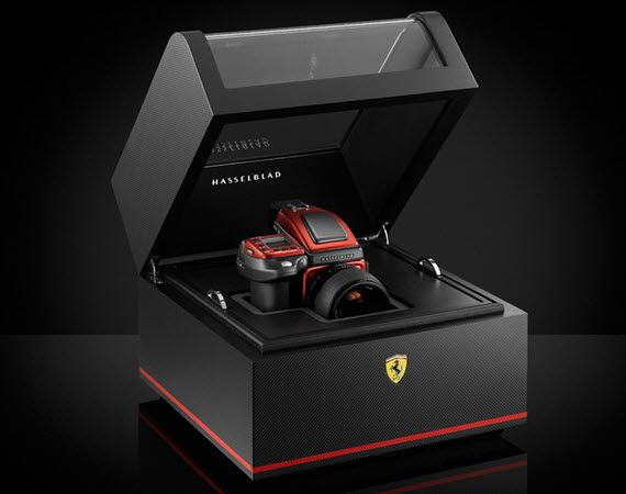 Ferrari X Hasselblad H4D-40 Limited Edition