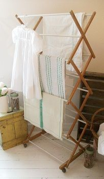 drying rack, old fashioned but just the best way for several years growing up.