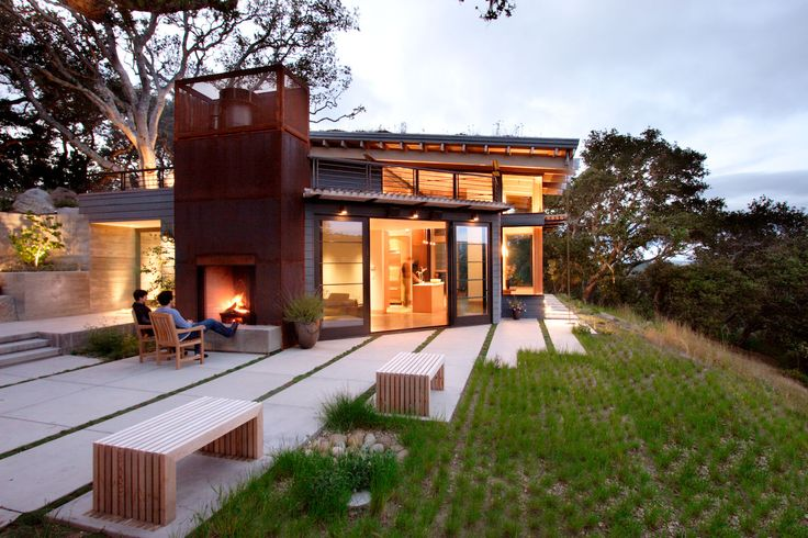 House of the Month: House Ocho, Sustainable Living in the Santa Lucia Preserve - Buildipedia