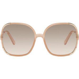 Chloé Pink Square Sunglasses