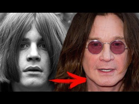 Ozzy Osbourne | Change from childhood to 2017
