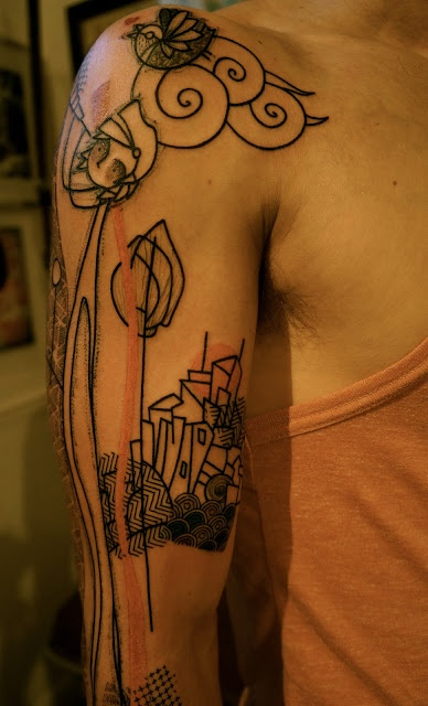 Never in my life would I get a tattoo like this but it is pretty awesome.