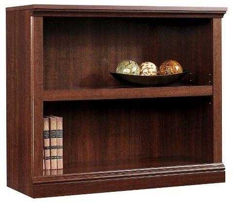 Sauder 2 Shelf Bookcase - Select Cherry