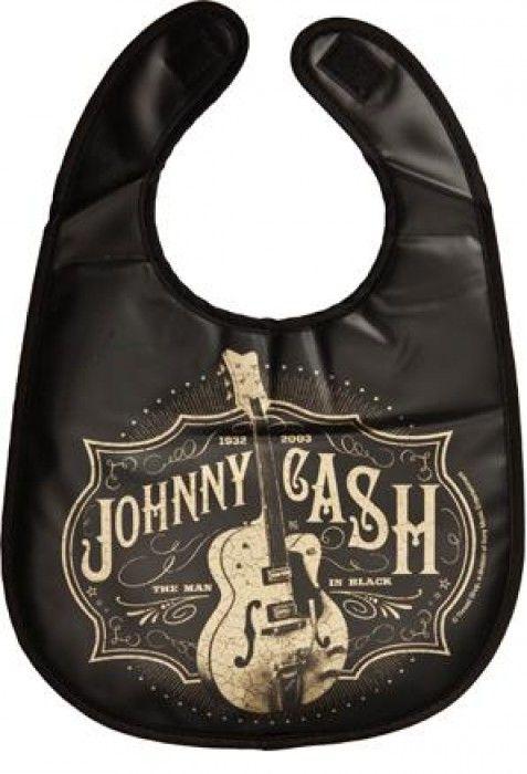 Johnny Baby Lätzchen Cash Man