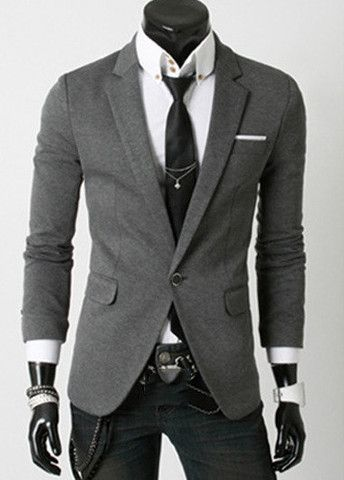Pretty Long Sleeve Turndown Collar Men Suit – teeteecee - fashion in style