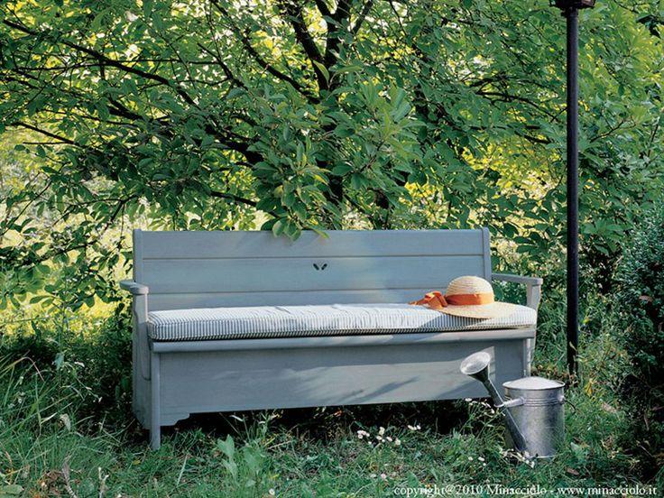 17 migliori idee su giardino in contenitore su pinterest for Cassapanca per balcone