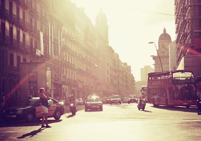 Meu coração sorri quando pensa em Barcelona. [ Bcn streets]