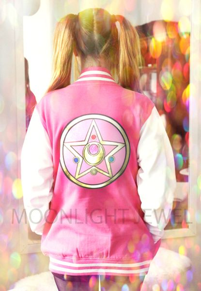 look at this cute ass sailor moon jacket omg
