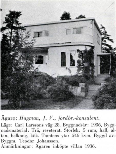Södra Ängby - Carl Larssons väg 28