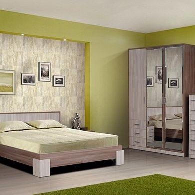 Спальня Ивушка-8 купить в Екатеринбурге | Мебелька