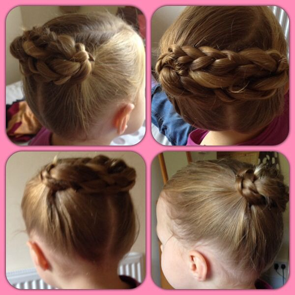 Little girl hair up idea I did on my little girl this weekend.
