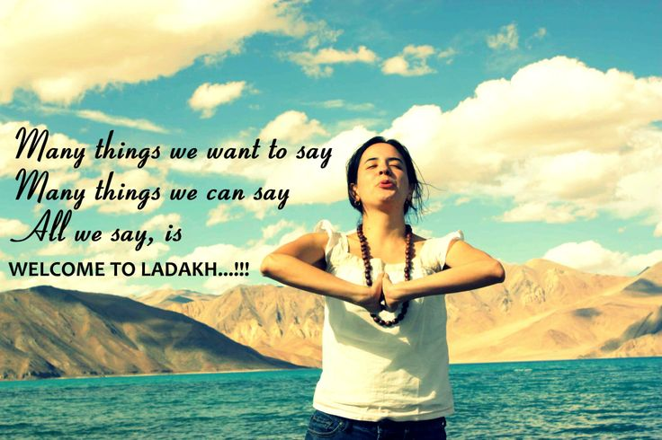 Welcome to Ladakh