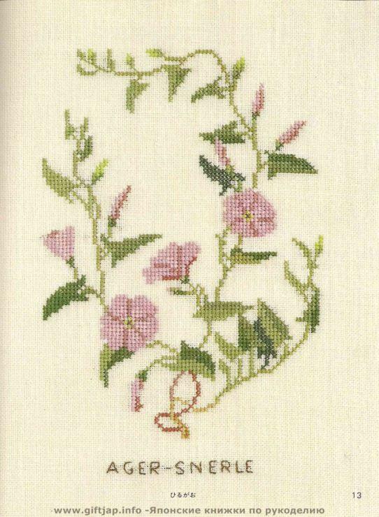 Gallery.ru / Фото #4 - Wild Flowers in Cross-Stitch - Mosca