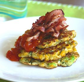 Corn Fritters - Julie Goodwin recipe