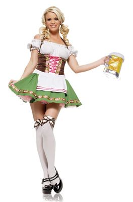 Gretchen Adult Costume #Oktoberfest #Halloween #costumes