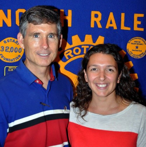 What happened in July? Jul 24, 2013 Gene Hirsch Matt Kane invited Melissa Guzman to lunch. She graduated from Davidson College in 2011 and taught Physics for 2 years at King's Academy in Jordan. She is about to begin her Masters in Aerospace Engineering at NCSU. How's that for a resume!!!