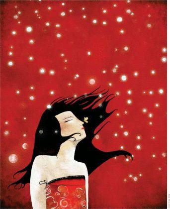 ensoñación, ilustración de Anne July Aubry