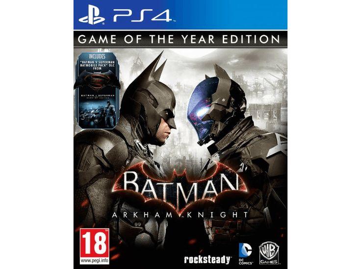génial BEMS Batman - Arkham Knight GOTY PS4 chez Media Markt
