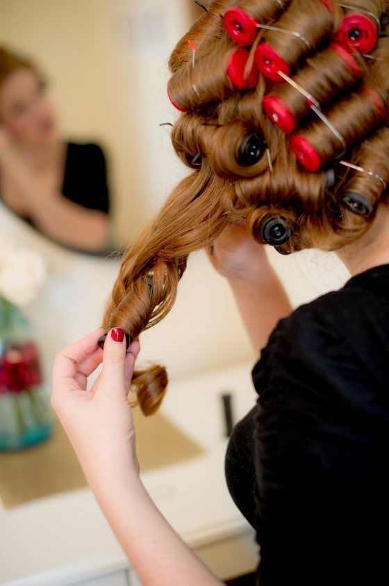 rolling hair style why rollers might be for you thisgirldoesbeauty 9195