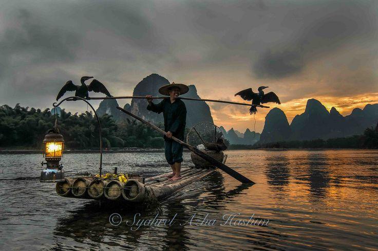 Cormorant fisherman... | by Syahrel Azha Hashim