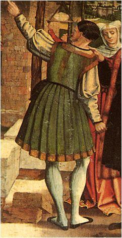 1530. Life of St. Julian, Master Ororbia, Altarpiece of the church of San Julian, Ororbia, Navarra (detail)