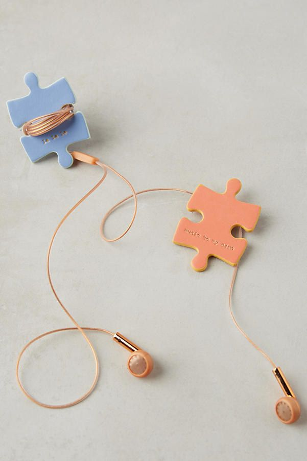 Puzzle cord keepers that'll save anyone who receives them from the dreaded cord untangling process. | 27 Amazing Gifts That Are Actually Useful