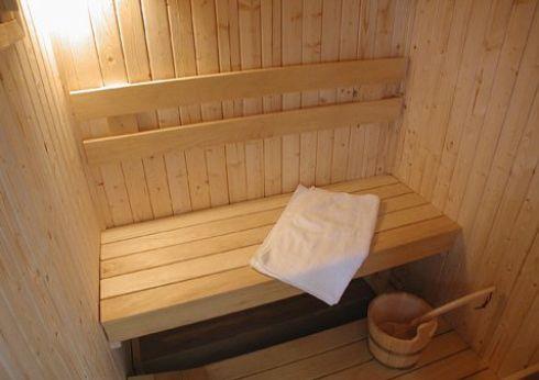 The sauna at Parc-yr-Hebog