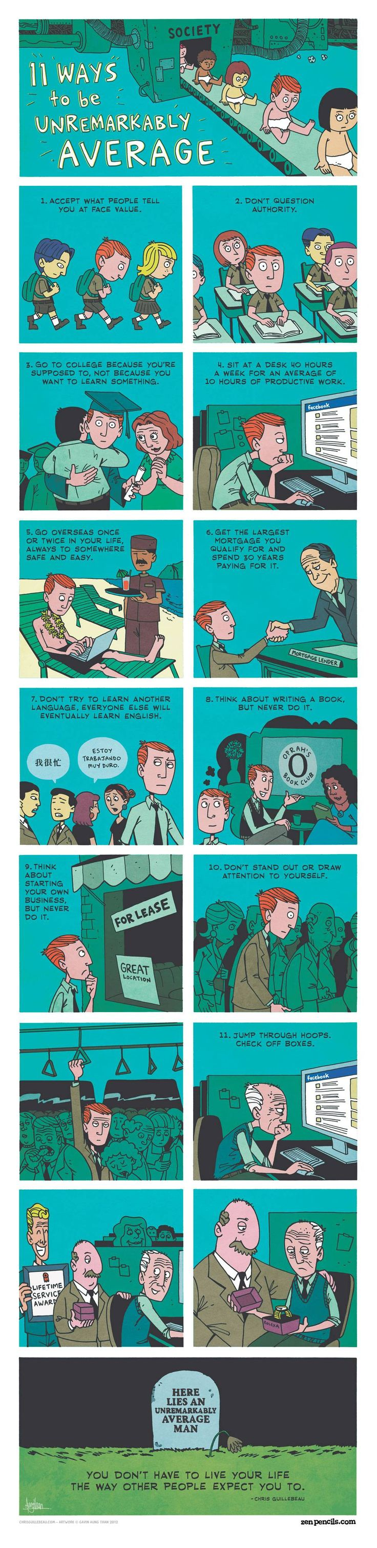 Comment être normal en 11 étapes