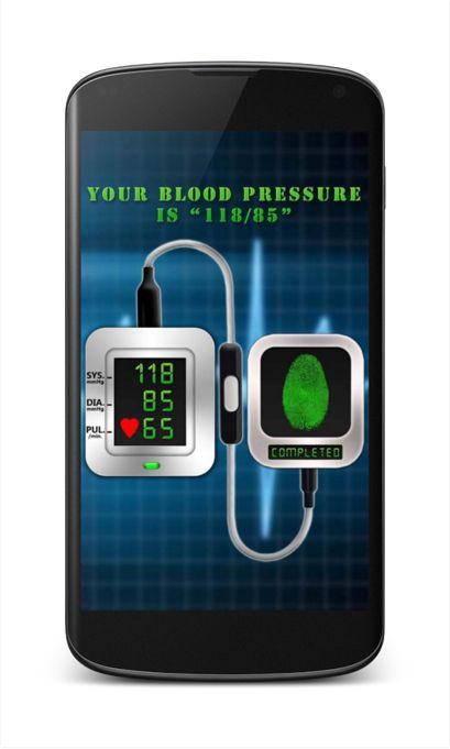 Finger Blood Pressure Prank for Android app free download
