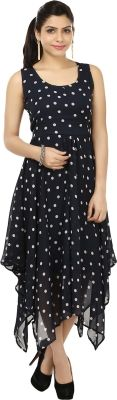 G&M Collections Women's Maxi Dress - Buy Navy, White G&M Collections Women's Maxi Dress Online at Best Prices in India | Flipkart.com #Maxi #Dresses #India