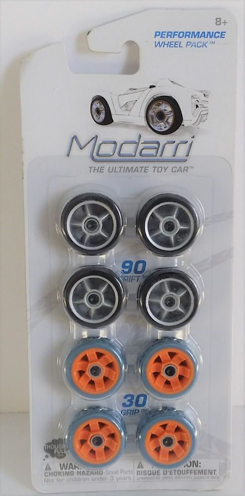 Modarri Performance Wheel Pack Black/Silver - Grey/Orange #Modarri
