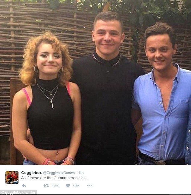 All change: They became household names as the children on the Outnumbered cast and nine years on, Twitter has gone wild for how different they look in a new group photograph